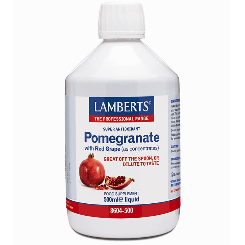 Lamberts Pomegranate Concentrate Συμπληρώματα, 500ml Healthspot Overespa