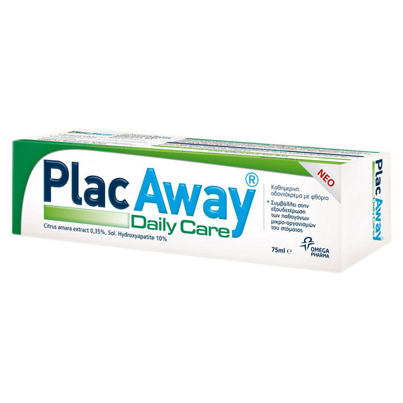 Plac Away Daily Care Pasta 75ml -healthspot overespa