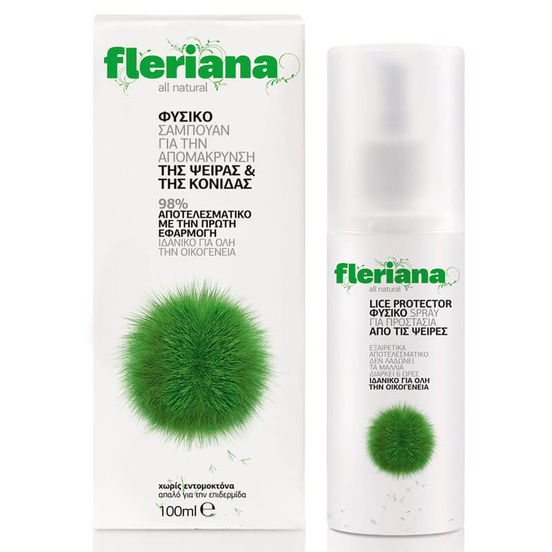 Power Health Fleriana Shampoo 100ml - Φυσικό σαμπουάν Healthspot - Overespa