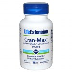 Life extension cran-max cranberry extract 500mg 60 -healthspot overespa