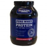 Maxim whey protein strawberry pure 750 gr -healthspot overespa