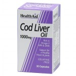 health aid cod liver oil 1000mg 30caps Συμπληρώματα διατροφής κατά της αρθρίτιδας - healthspot overespa