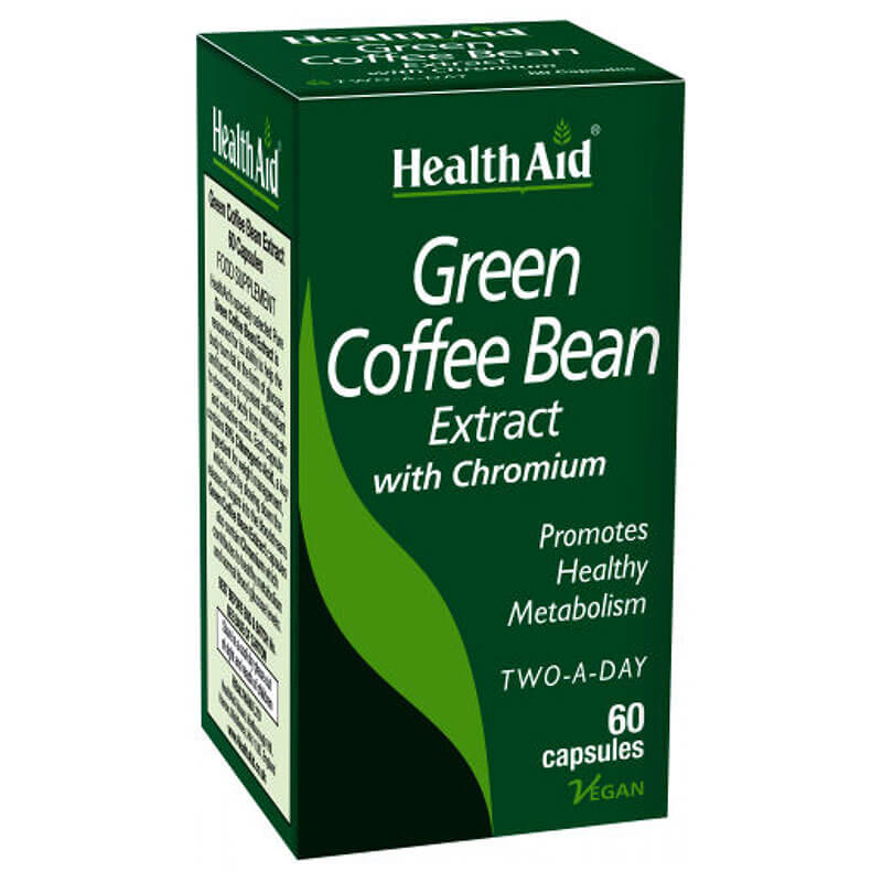 Health aid green coffee bean 60caps - healthspot overespa