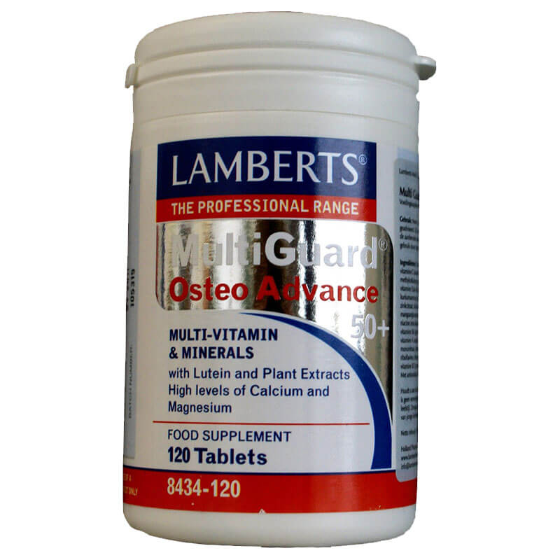 Lamberts Multi Guard Osteo Advance Πολυβιταμίνες, 120tabs Healthspot Overespa