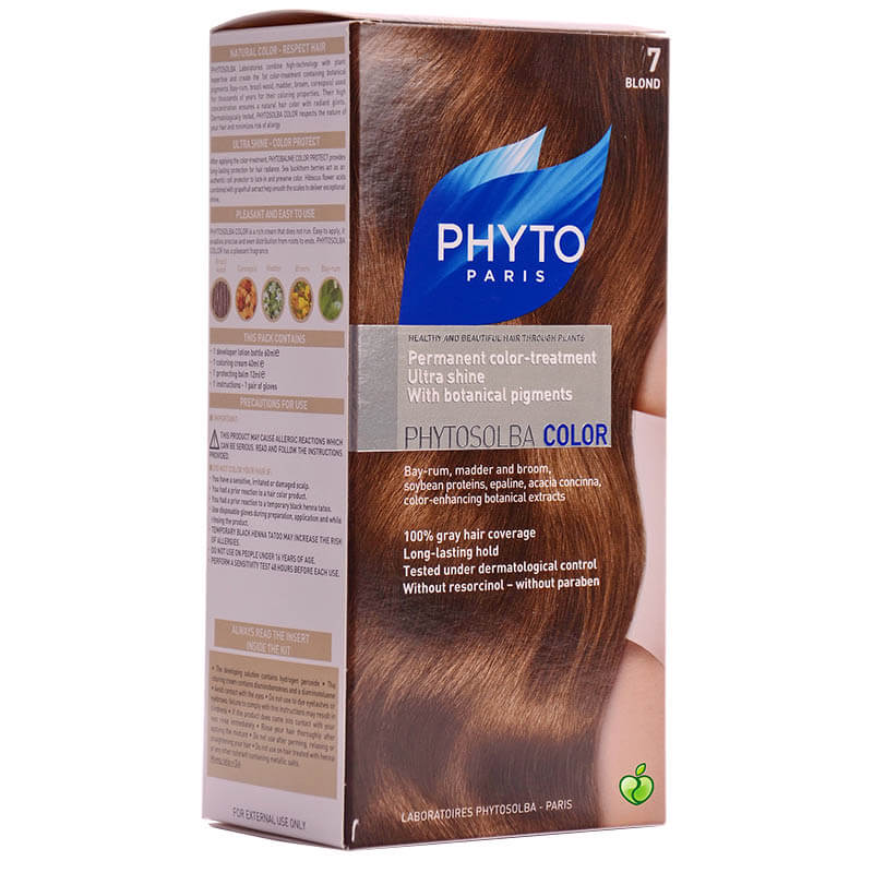 Phyto Paris Phytosolba Color 7 Βαφή, Ξανθό Healthspot Overespa