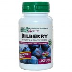 Nature`s plus bilberry 50 mg vcaps 60 -healthspot overespa