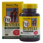 Nature`s plus fat busters tablets 60 -healthspot overespa