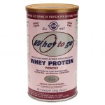 Solgar whey to go protein strawberry powder 454gr -healthspot overespa