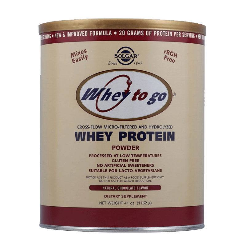 Solgar Whey To Go Protein Πρωτεΐνη από ορό γάλακτος, 1162 gr Healthspot Overespa